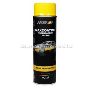 Motip 00129 bruine antiroest waxcoating in 500ml spuitbus