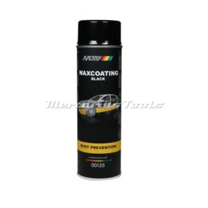 Motip 00135 zwarte antiroest waxcoating in 500ml spuitbus