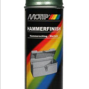Motip 04012 hamerslag groen in 400ml spuitbus