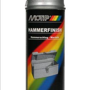 Motip 04013 hamerslag zilver in 400ml spuitbus