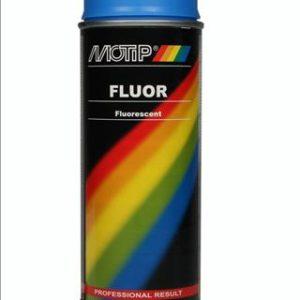 Motip 04024 fluor verf blauw