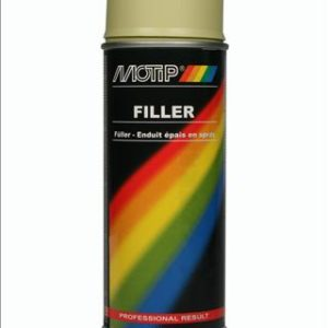 Motip filler geel 400ml