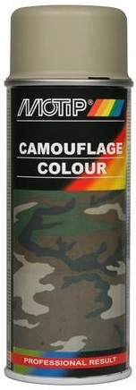 Motip 04204 Camouflage lak grijs