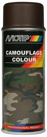 Motip 04205 Camouflage lak RAL8027 bruin