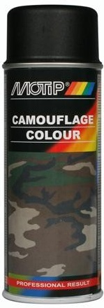 Motip 04206 Camouflage lak RAL9021 zwart