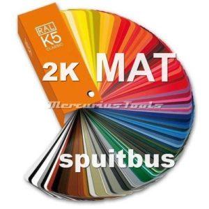 2K lak RAL5001 Blauwgroen MAT in spuitbus -MT2K5001M