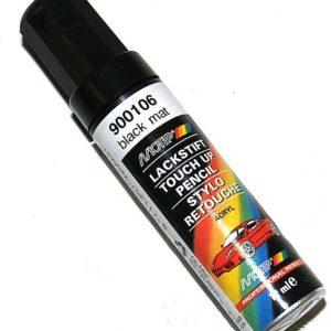 Motip 900106 lakstift mat zwart 12ml