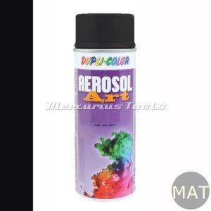 Aerosolart lak RAL9005 diep zwart mat –Dupli Color 733161