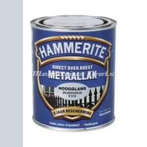 Anti roest lak hoogglans zilver grijs S015 750ml -Hammerite