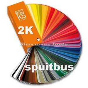 Autolak 2K RAL5024 Pastel Blauw in spuitbus -MT2K5024