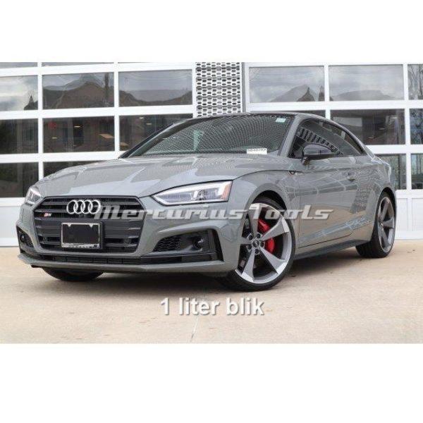 Autolak Audi Quantum Grey LX7B 1K in blik 1 liter