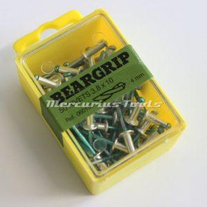 Beargrip popnagels 3.8x6mm groen 50 stuks