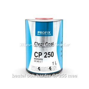 Blanke lak (hoogglans) 2K 1 liter zonder harder -Profix CP250