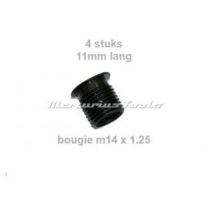 Bougie huls m14x1.25 11mm lang per 4 -Midlock 281-C
