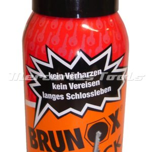 Brunox top lock slotspray in 100ml spuitbus