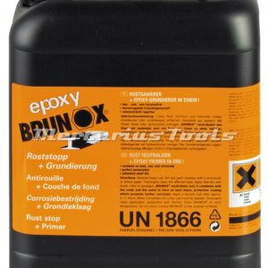 Brunox epoxy roestomzetter en primer in 5 liter kan