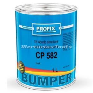 Bumper lak structuur zwart 1K 1 liter -Profix CP582
