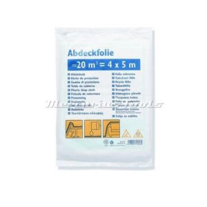 Color expert afdekfolie hdpe 0005mm 4x5m dun