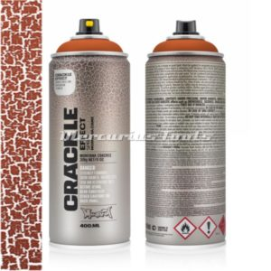 Crackle effect Copper Brown RAL8004 -Montana EC8004
