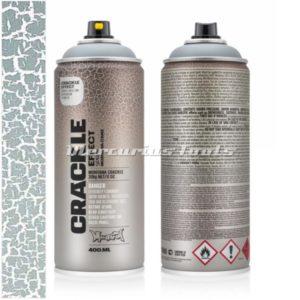 Crackle effect Squirrel Grey RAL7000 -Montana EC7000