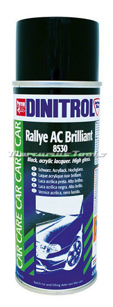 Dinitrol 8530 lakspray zwart hoogglans ac in 400ml spuitbus