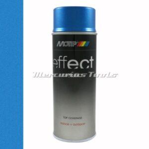 Blauw metallic blue doe het zelf lak 400ml spuitbus -Motip Deco Effect