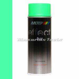 Doe het zelf lak fluor groen Fluorescent green 400ml -Motip Deco Effect