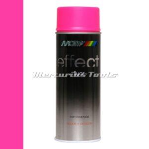 Doe het zelf lak fluor roze Fluorescent pink 400ml -Motip Deco Effect