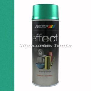 Doe het zelf lak groen Metallic green 400ml -Motip Deco Effect