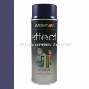 Paars metallic violet doe het zelf lak 400ml spuitbus -Motip Deco Effect