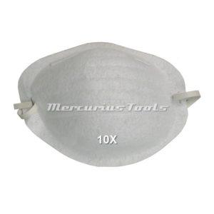 Fijnstofmaskers mondkapjes 10x