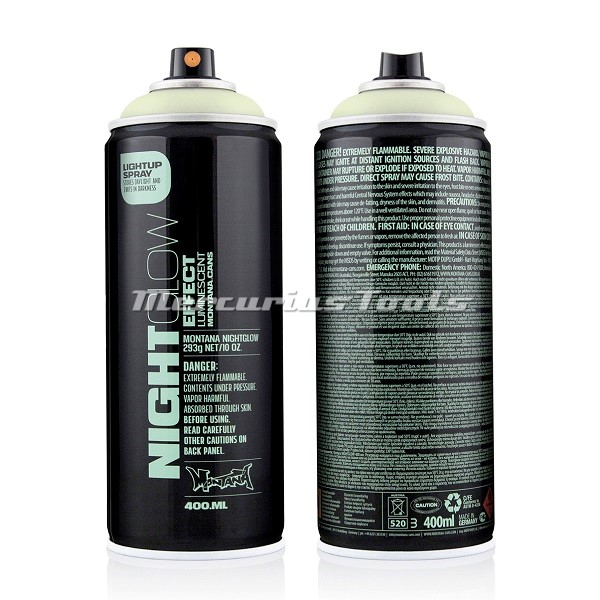 Graffiti Nightglow Luminescent Green NG1000 400ml -Montana Black
