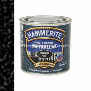 Hamerslag anti roest lak zwart H160 250ml -Hammerite