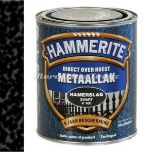 Hamerslag anti roest lak zwart H160 750ml -Hammerite