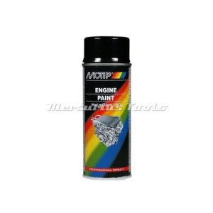 Hittebestendige motorlak hoogglans zwartMotip 04092