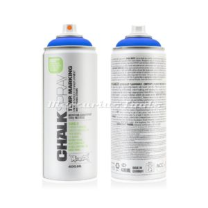 Krijtspray blauw 400ml -Montana Chalk spray CH 5050