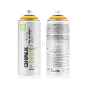 Krijtspray geel 400ml -Montana Chalk spray CH1020