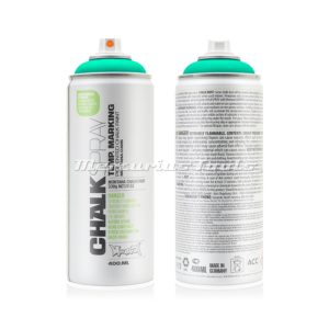 Krijtspray groen 400ml -Montana Chalk spray CH 6050