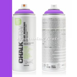 Krijtspray paars 400ml -Montana violet Chalk spray CH 4150