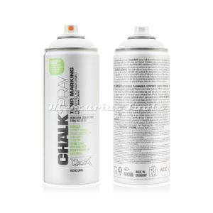 Krijtspray wit 400ml -Montana Chalk spray CH 9100