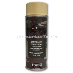 Legerverf beige Marsh Grass in 400ml spuitbus Fosco 46931243A