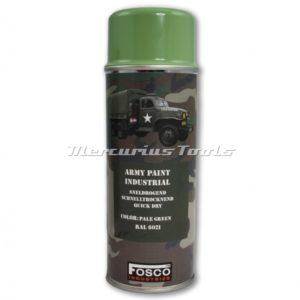 Legerverf groen RAL6021 Pale Green in 400ml spuitbus Fosco 46931246A