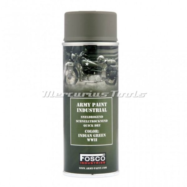 Legerverf indian green WWII in 400ml spuitbus Fosco 469312134A