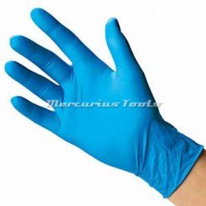 M-Safe handschoenen nitril heavy duty blauw maat S
