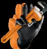 M-safe Grippaz nitril handschoenen voor extra grip zwart maat XL