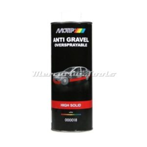 Motip 000018 anti steenslag coating wit high solid 1 liter onderschroefbus