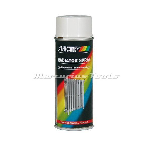 Motip 04077 radiator lak wit 400ml spuitbus