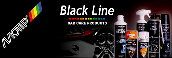 Motip Car Care black serie banner Mercurius Tools