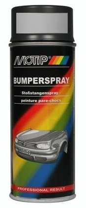 Motip04074 bumperlak middel grijs in 400ml spuitbus