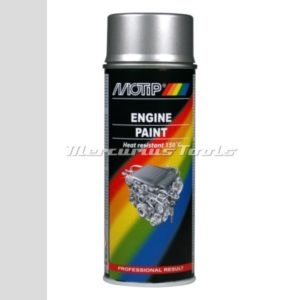 Motorblok lak hittebestendig aluminium -Motip 04093